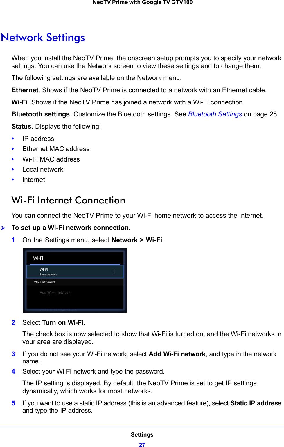 Netgear Gtv100 User Guide NeoTV Prime With Google TV Manual