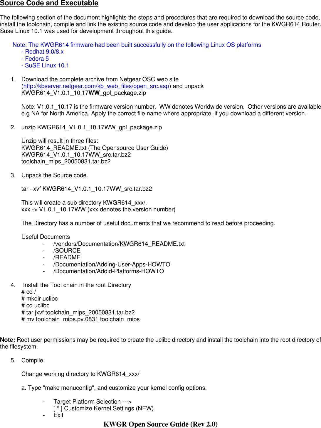Netgear Kwgr614 Owner S Manual Opensource Guide Rev2 0