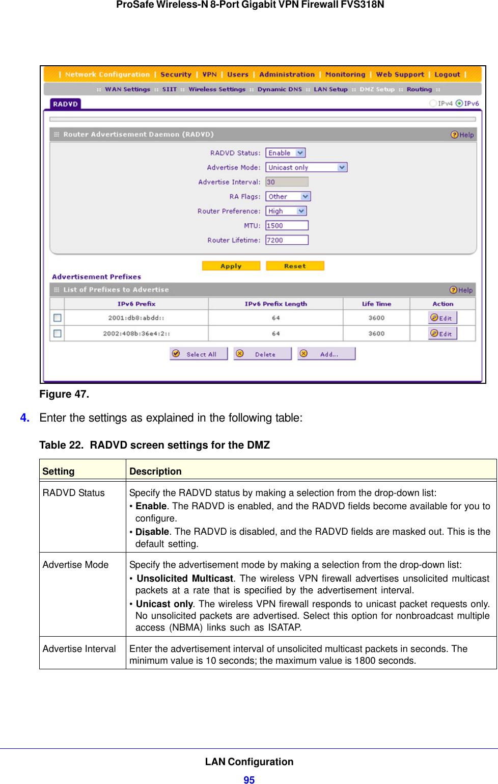 Netgear Modem Fvs318N Users Manual ProSafe Wireless N 8 Port