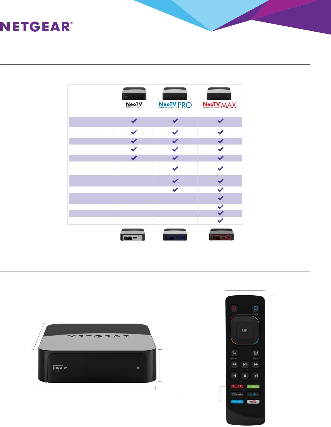 Netgear Ntv300 Data Sheet NTV300_DS_08Mar13