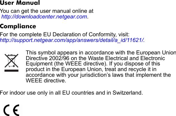 Netgear Powerline Av 200 Nano Adapter Set Xavb1601 100Nas Users ...