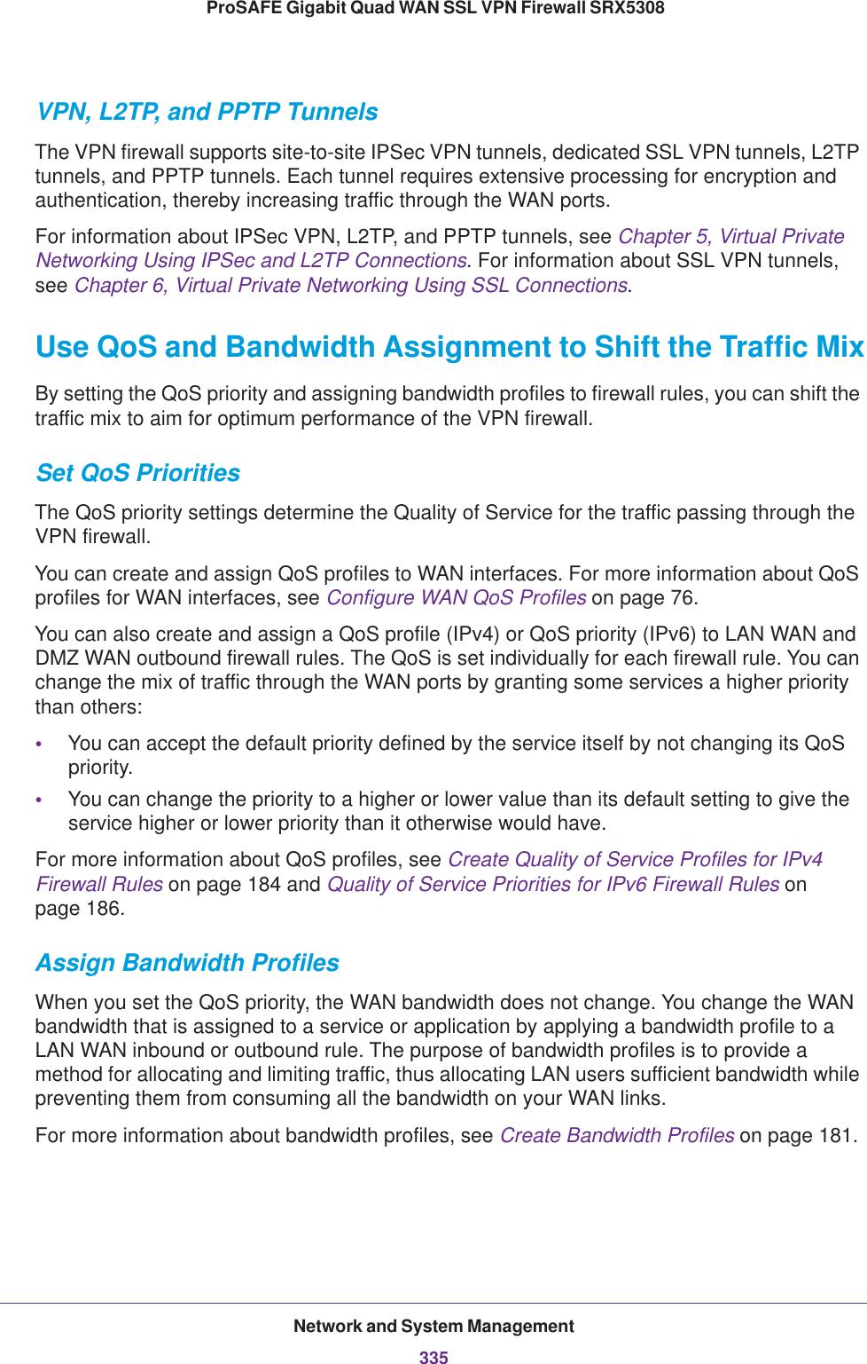 Netgear Srx5308 Quick Reference Guide ProSAFE Gigabit Quad