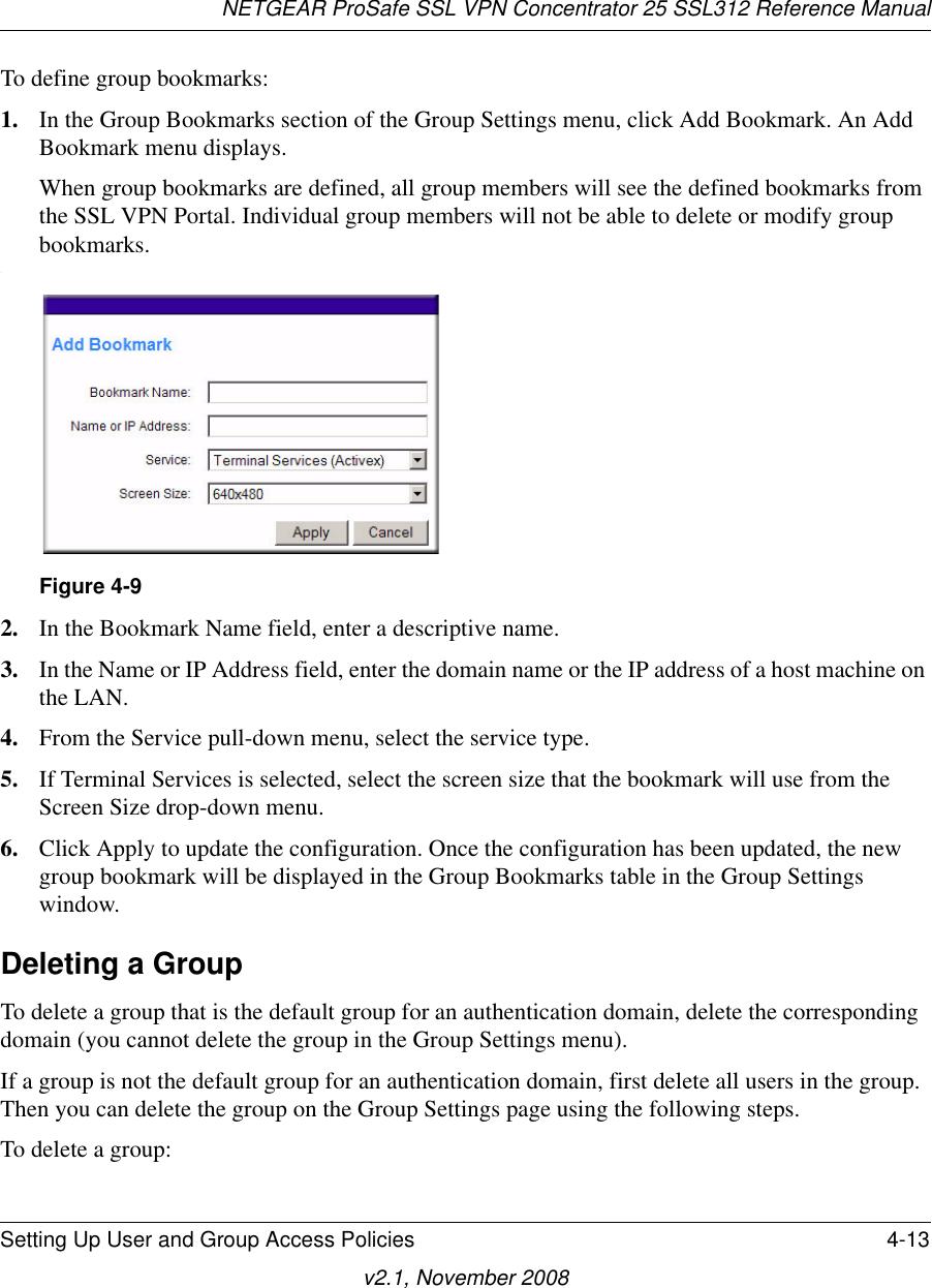 Netgear Ssl312 Owner S Manual FullManual