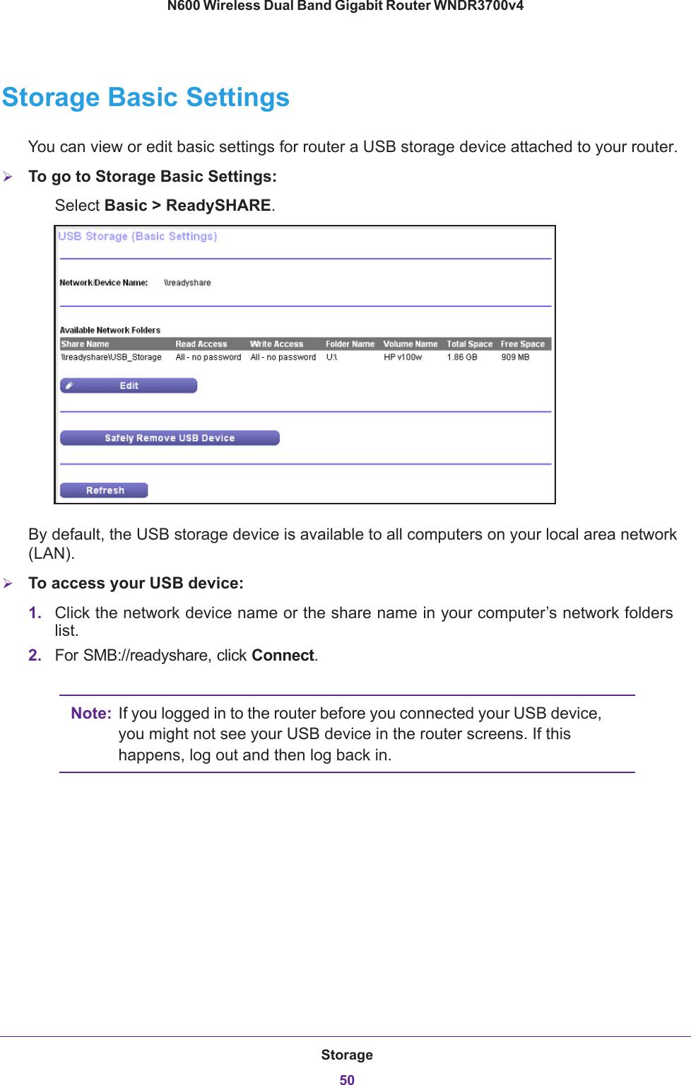Netgear Wndr3700V4 Owner S Manual N600 Wireless Dual Band