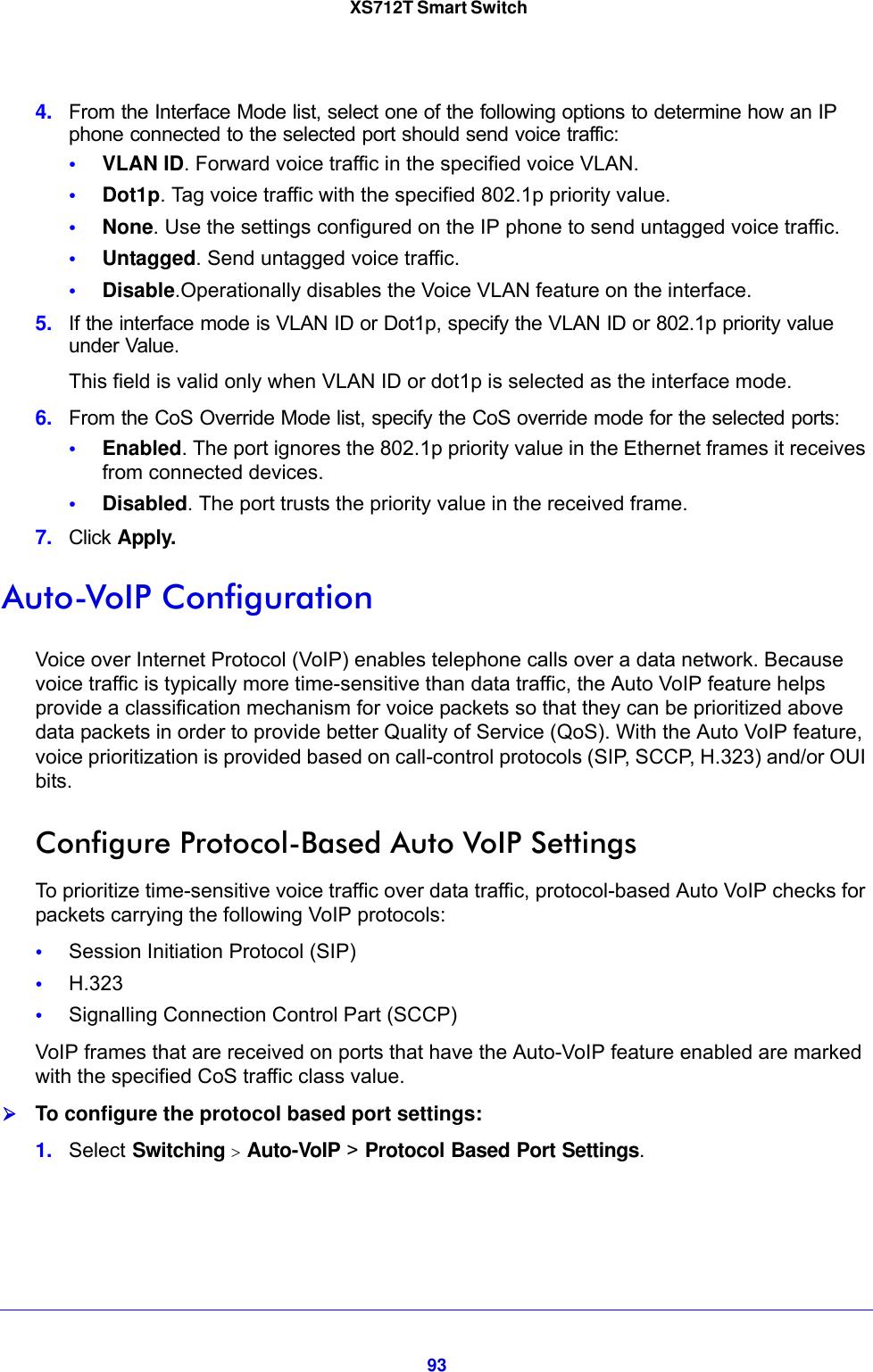 Netgear Xs712T Smart Switch 100Nes Users Manual X712T