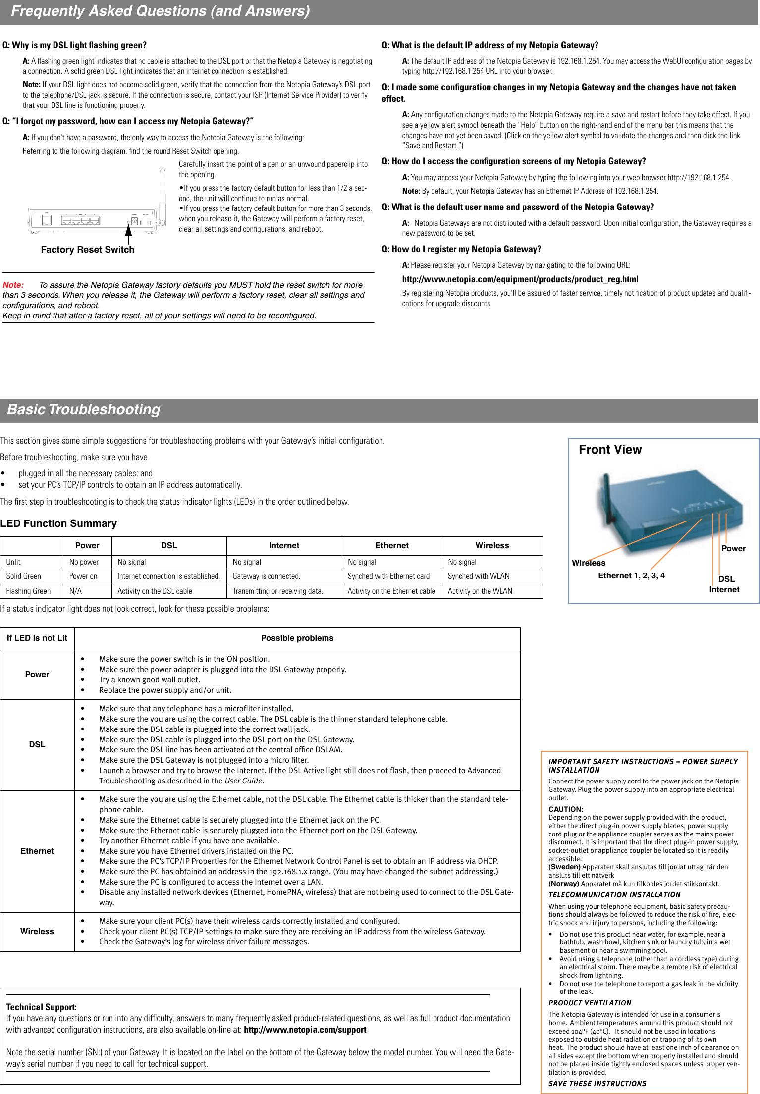 How to configure a motorola / netopia 3347 dsl modem youtube.