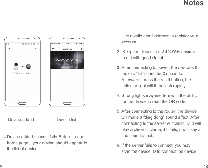 Netvue Technologies NI-3221 Orb Cam User Manual