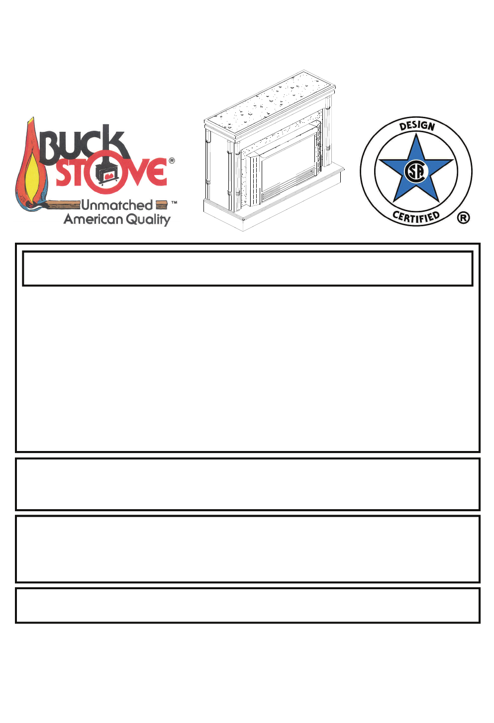 New Buck Corporation 34 Users Manual Stove Wiring Diagram