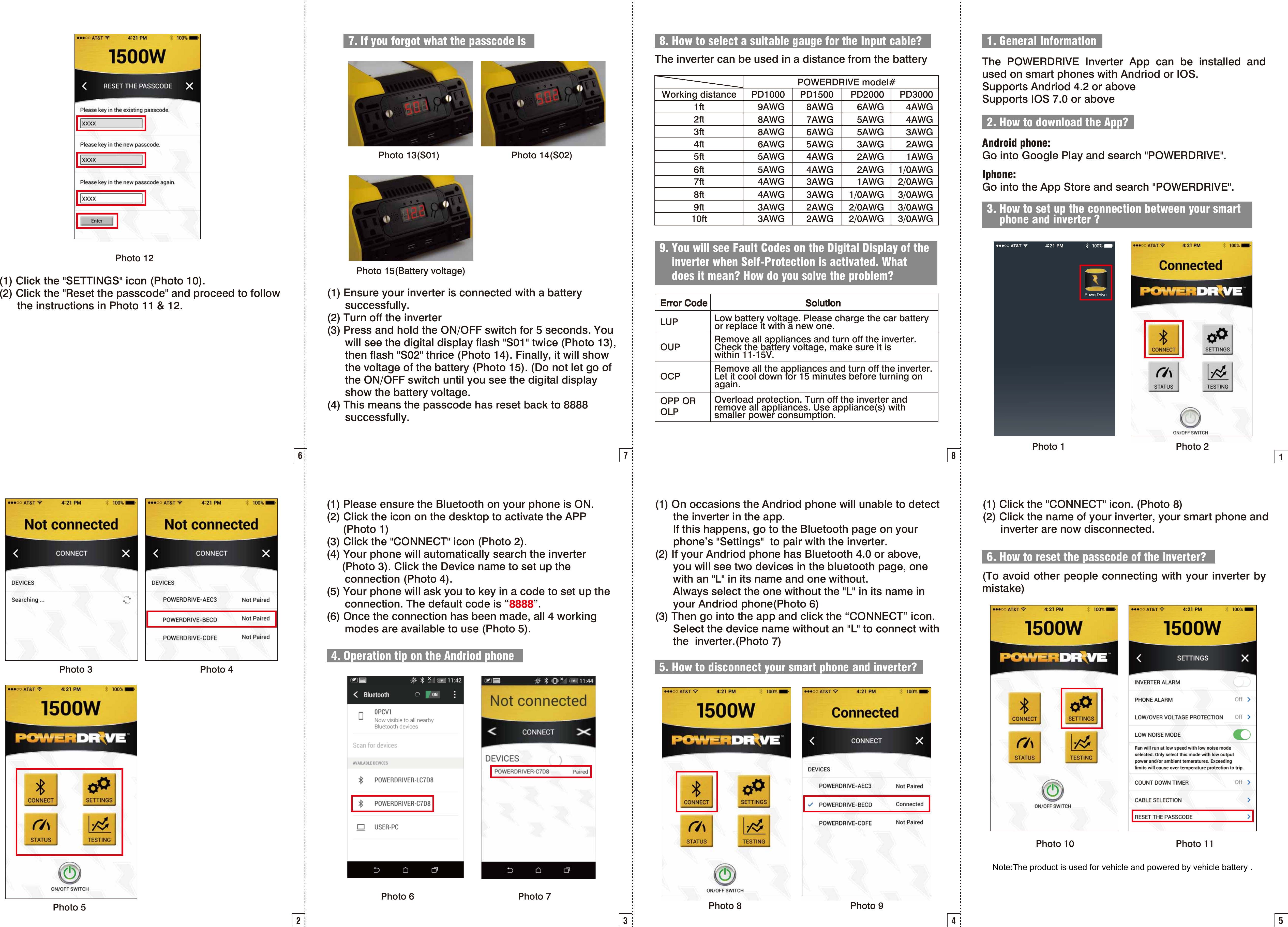 New Focus Lighting And Power Technology 7967 Bluetooth Module User Manual App 20141222
