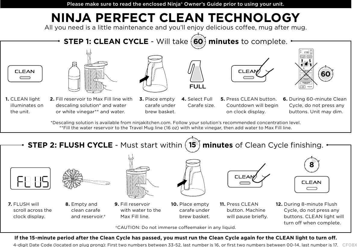 Ninja Coffee Pot Cleaning Instructions   Bruin Blog