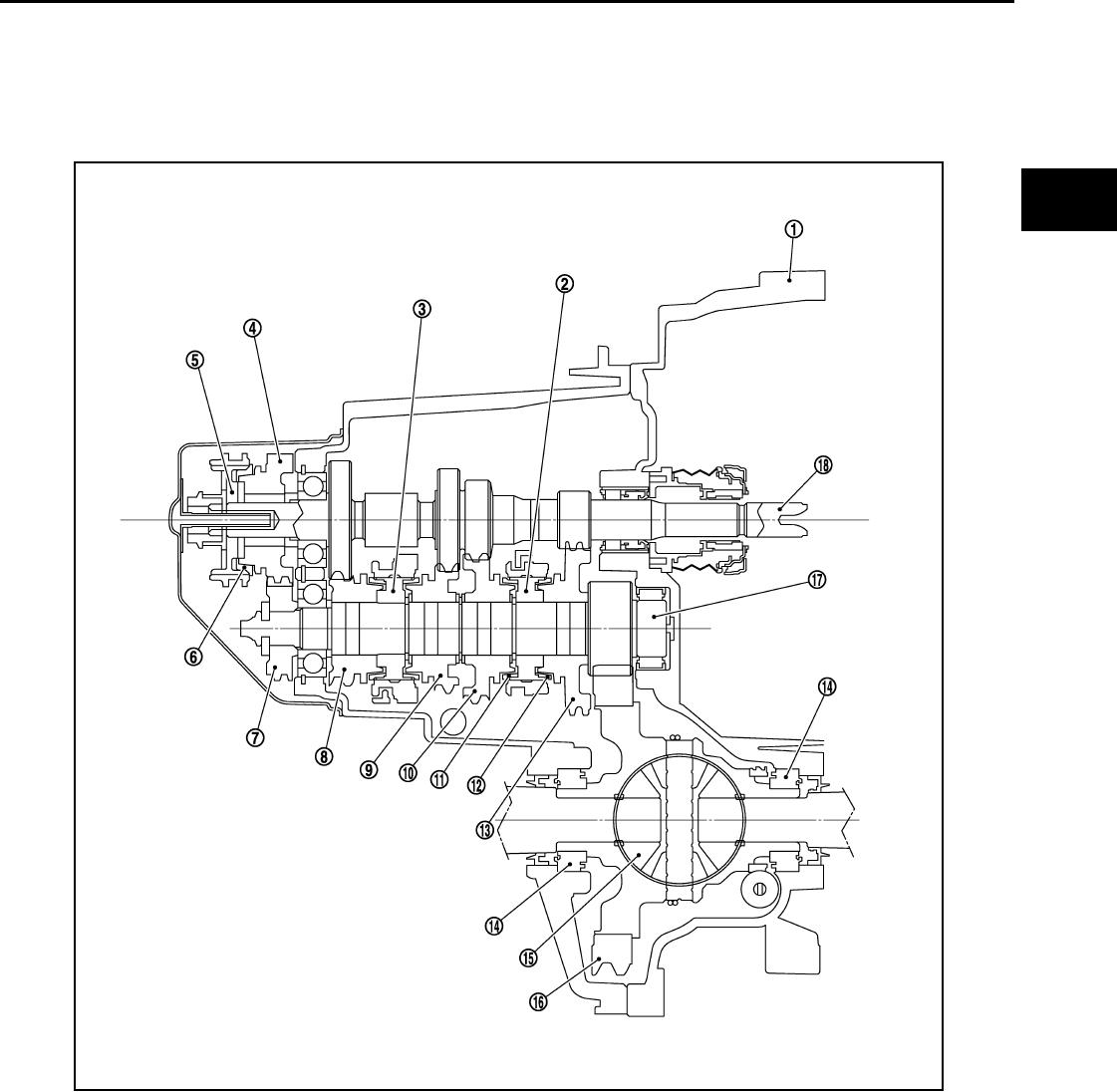 Nissan 2011 Versa Owners Manual Sm1e 1c11u0mt Diagrams Mt82 Transmission Description