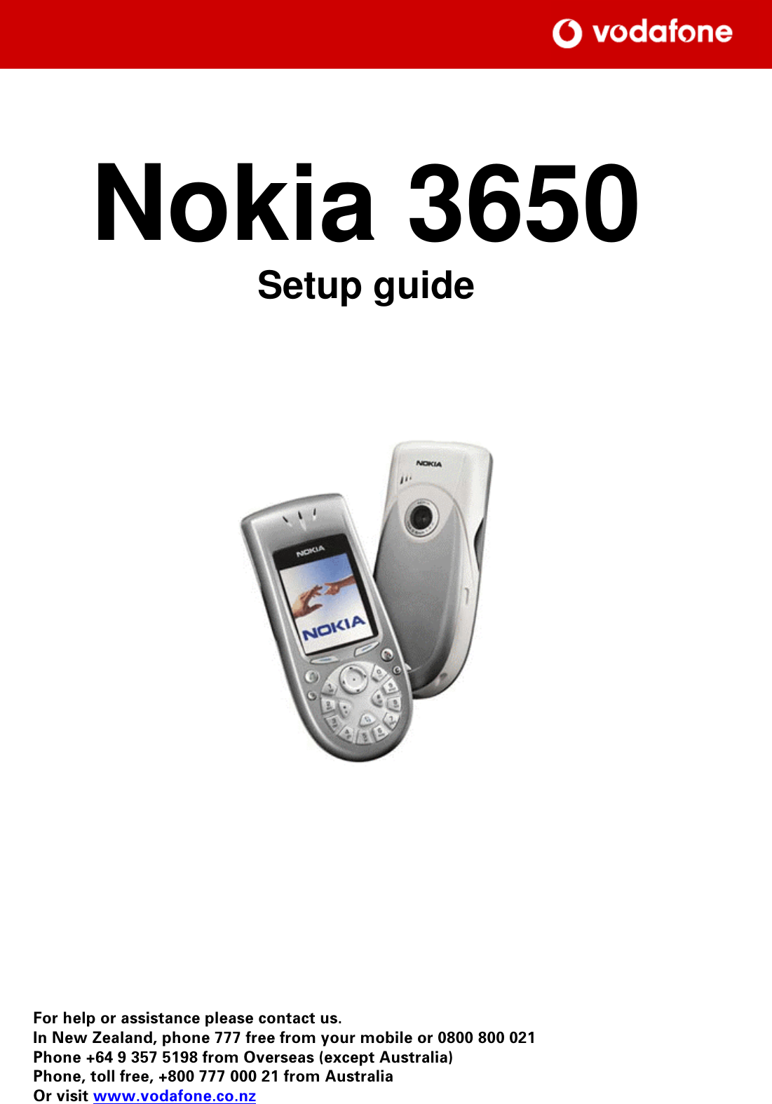 nokia 3650 users manual setup guide rh usermanual wiki Nokia 6630 Nokia 3210