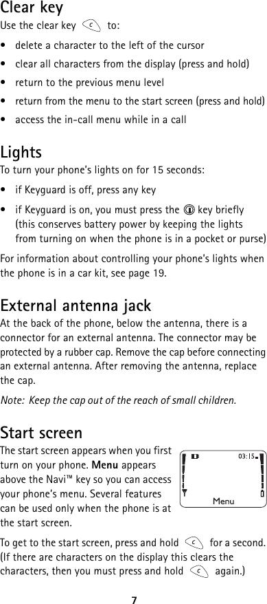 Nokia 5125 Users Manual Santrai diagram