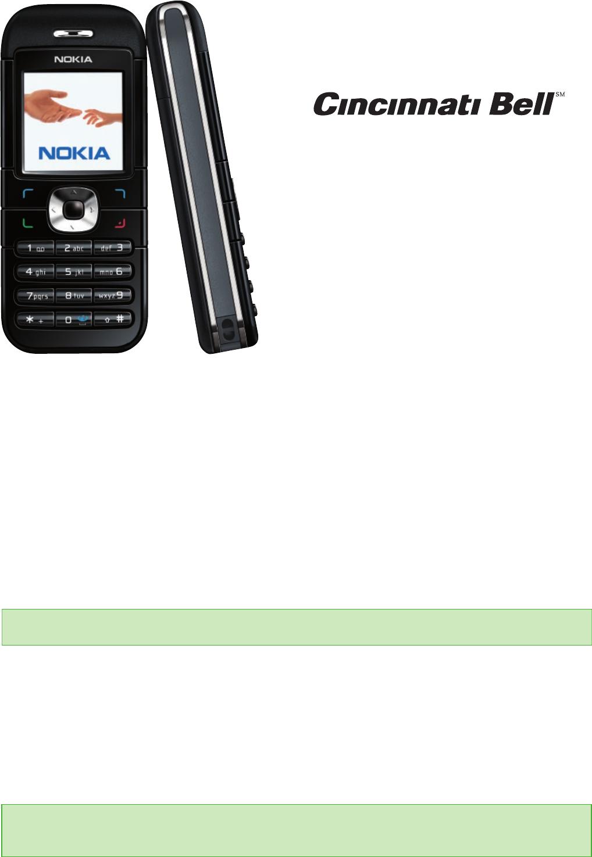 Nokia 6030 Users Manual