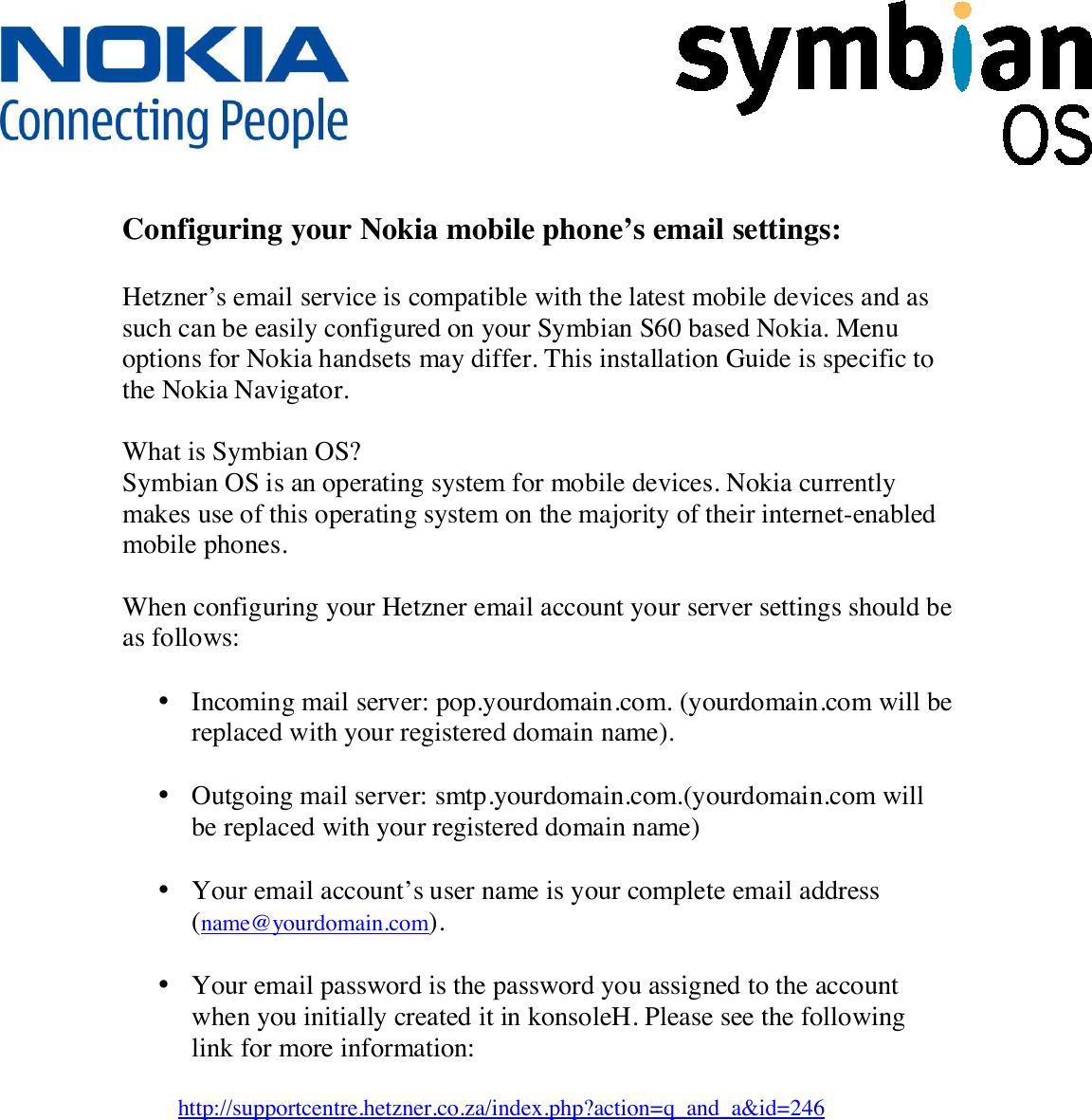 Nokia Mobile Phone Symbian S60 Users Manual Nokia_Symbian