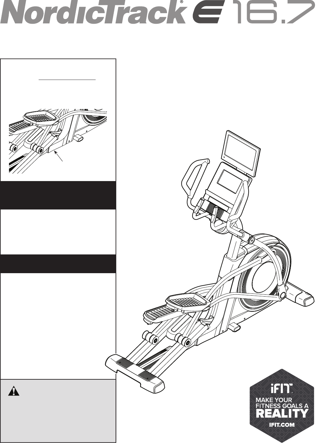 Nordic Track Ntel160130 Owner S Manual Nordictrack Wiring Diagram