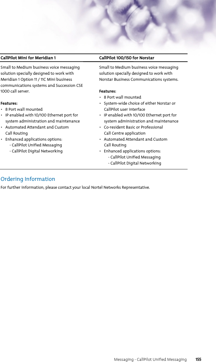 Nortel Networks 9115 Users Manual Product And Solution Reference