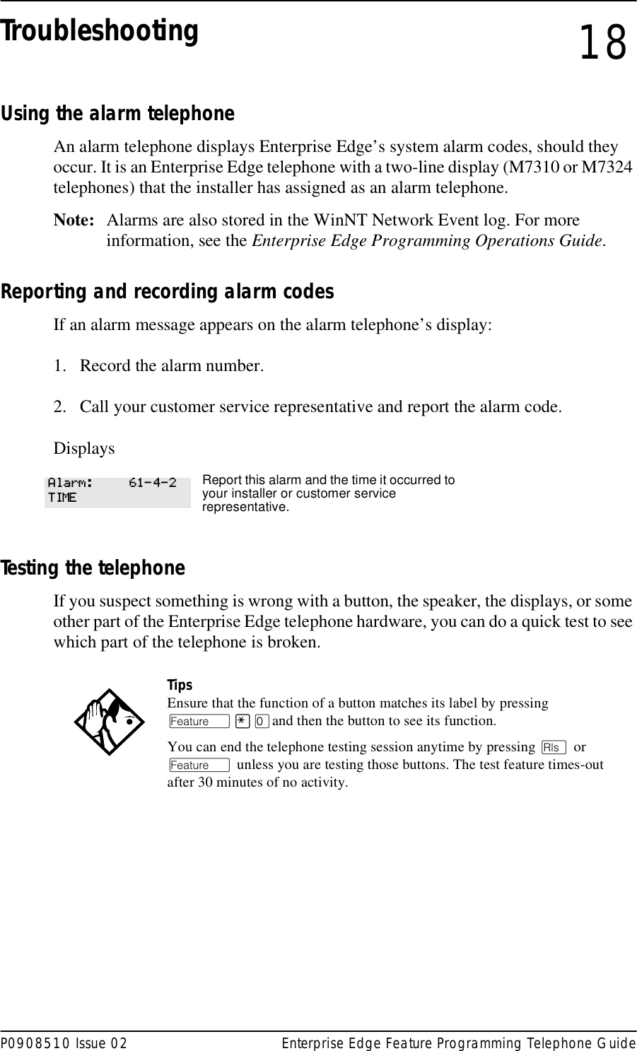 Nortel Networks M7410 Users Manual BCM 1 01 Feature Programing