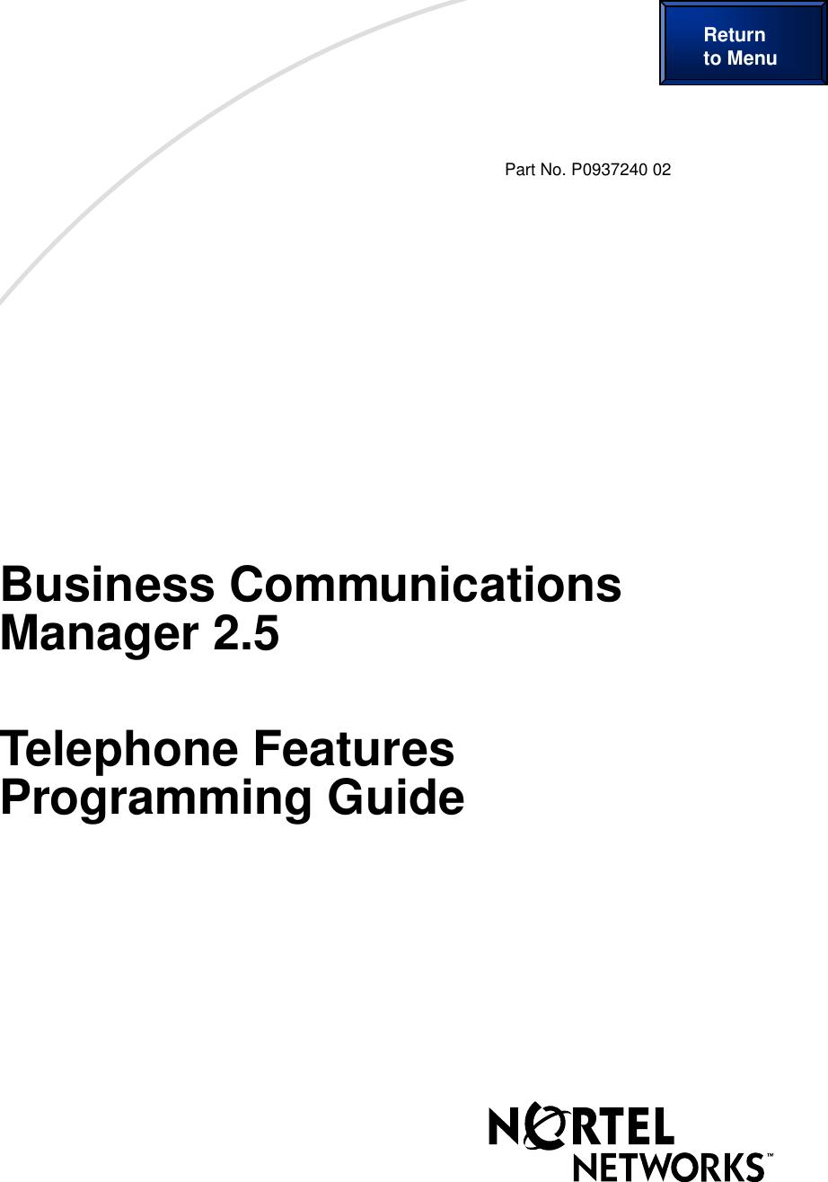 Nortel Networks Wireless Office Headset Po937240 02 Users