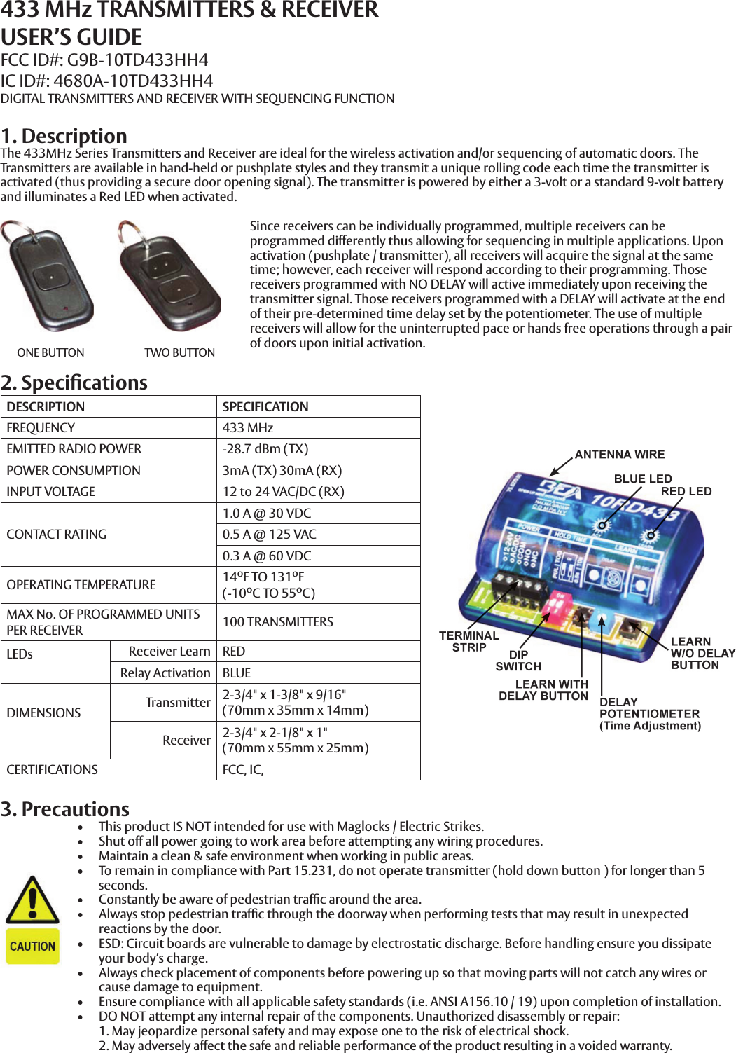 Norton Instructions For Transmitters 536 538 And Radio Frequency