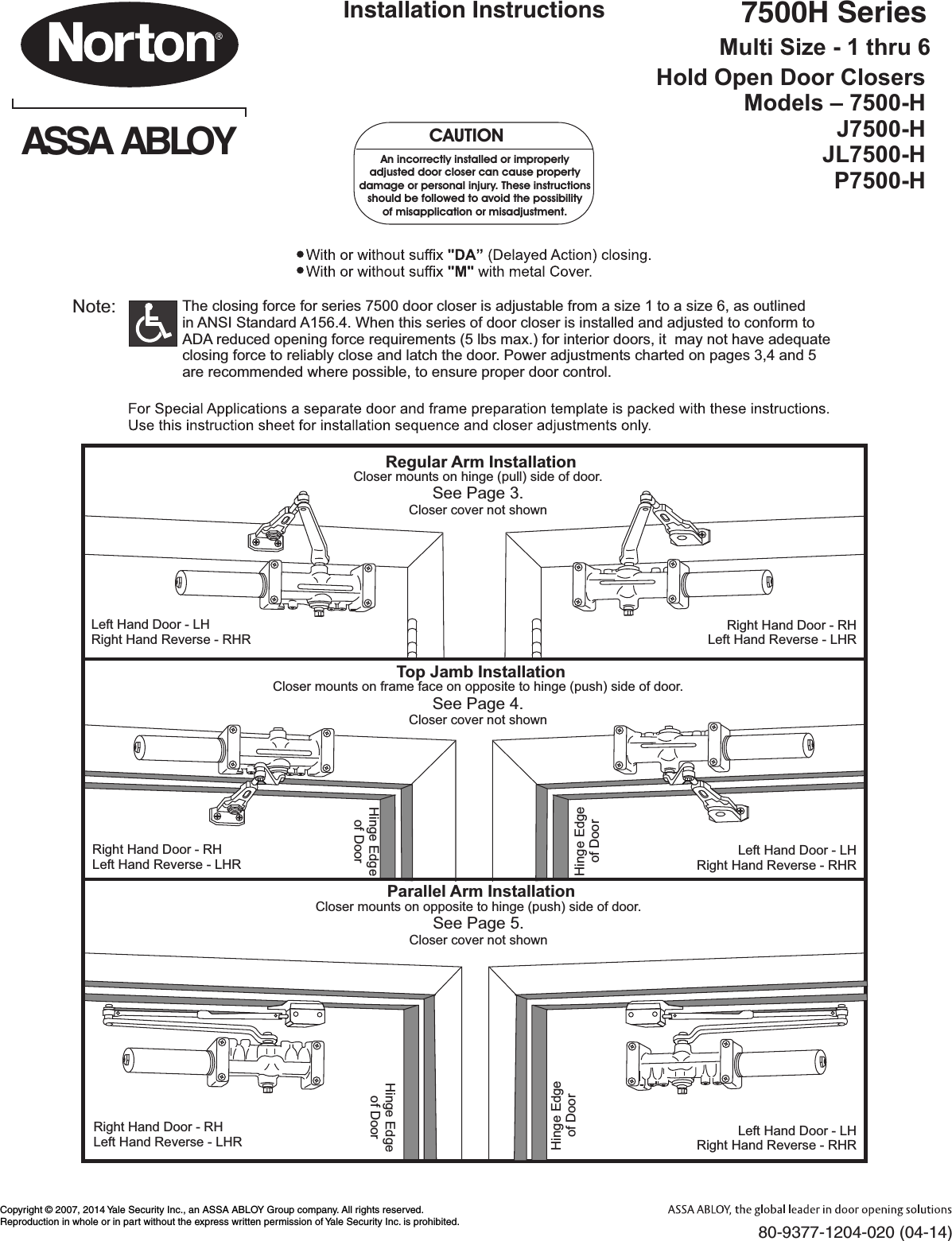 Norton 7500H Tri Style 80 9377 1204 020
