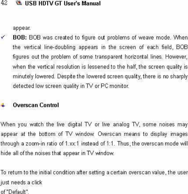 ONAIRSOLUTION ONAIRUSBHDTVGT USB HDTV Receiver User Manual