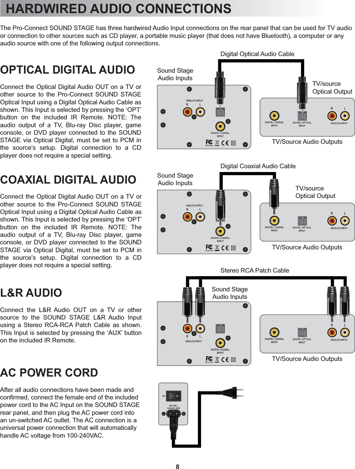 OSD Audio JAPC Sound Platform / Sound Stage User Manual 1