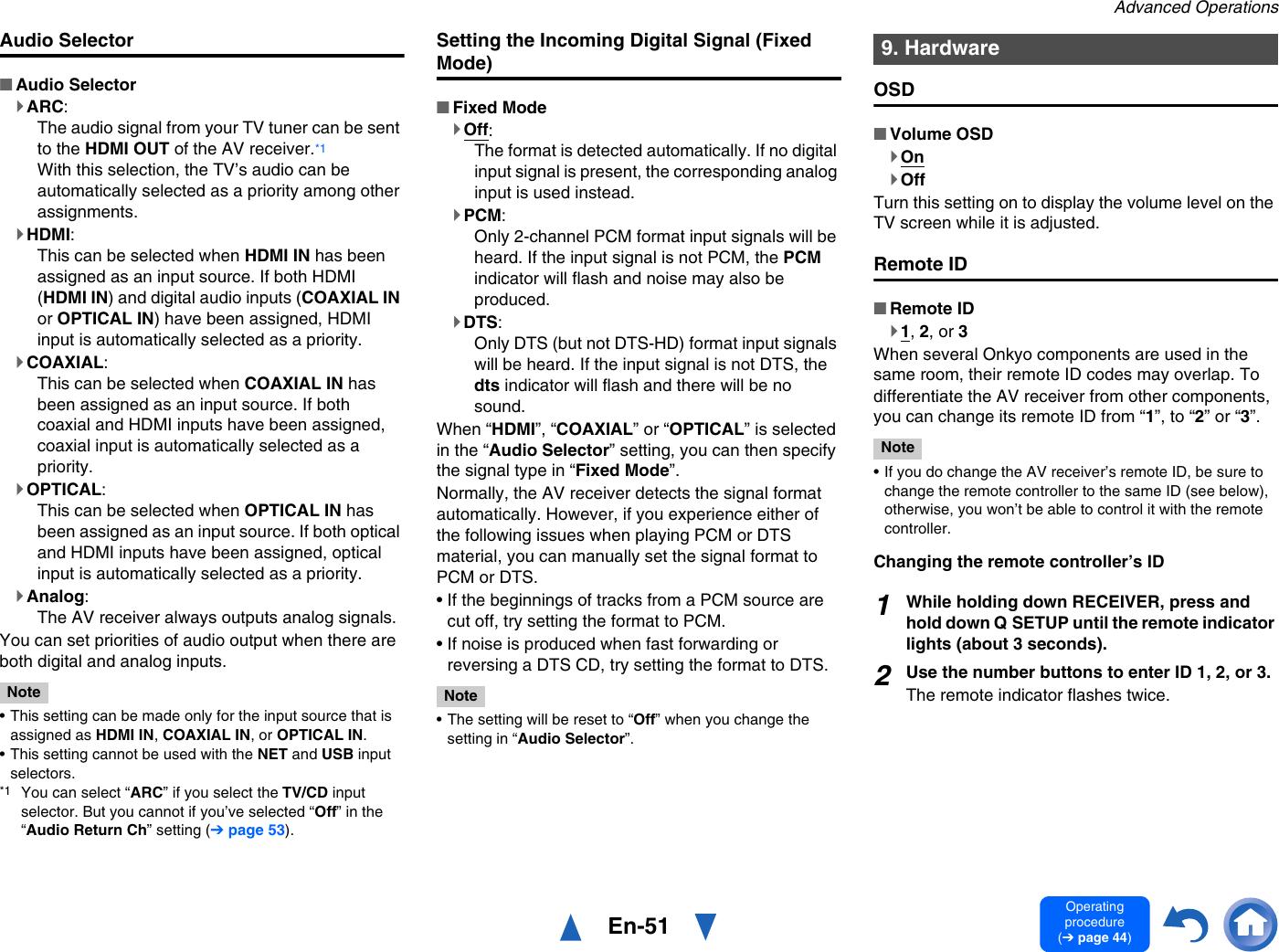 Onkyo Av Receiver Txnr525 Users Manual