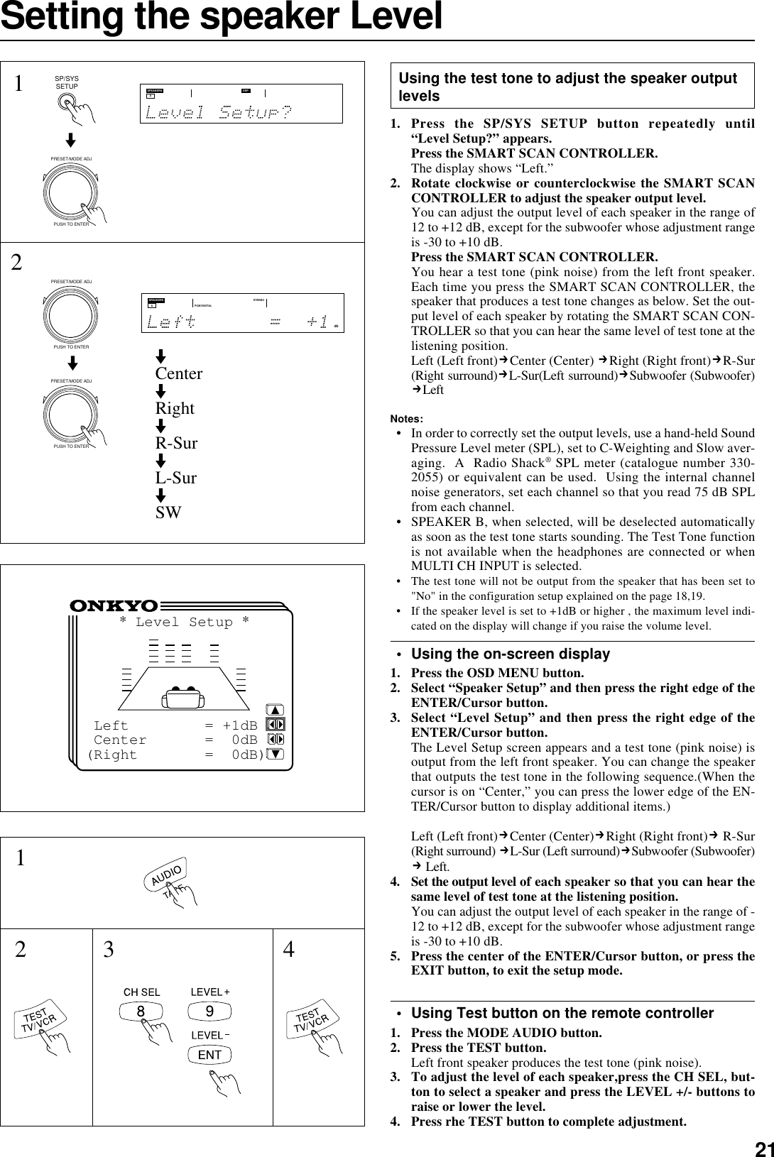 Onkyo Tx Ds676 Owner S Manual