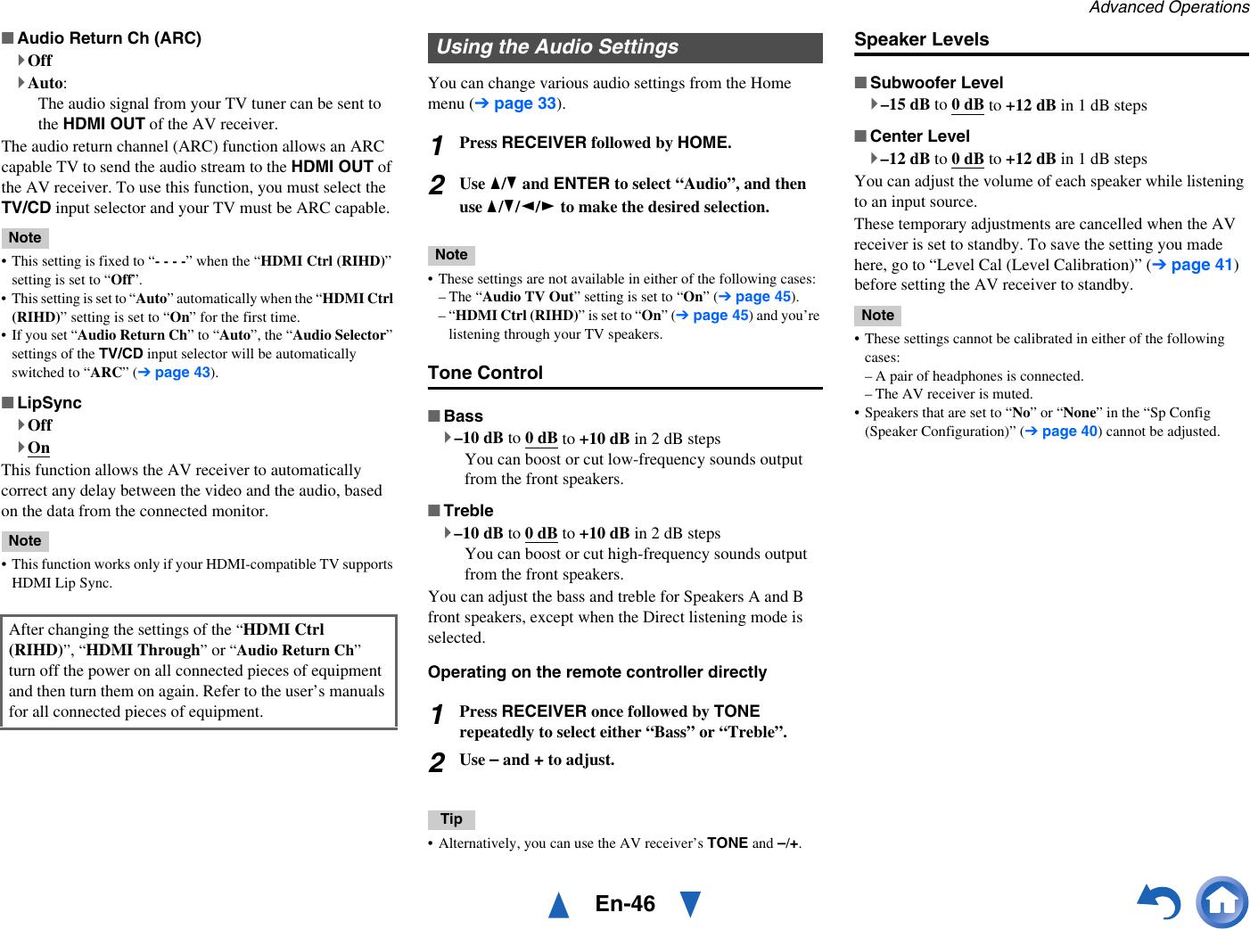 Onkyo Tx Sr313 Users Manual