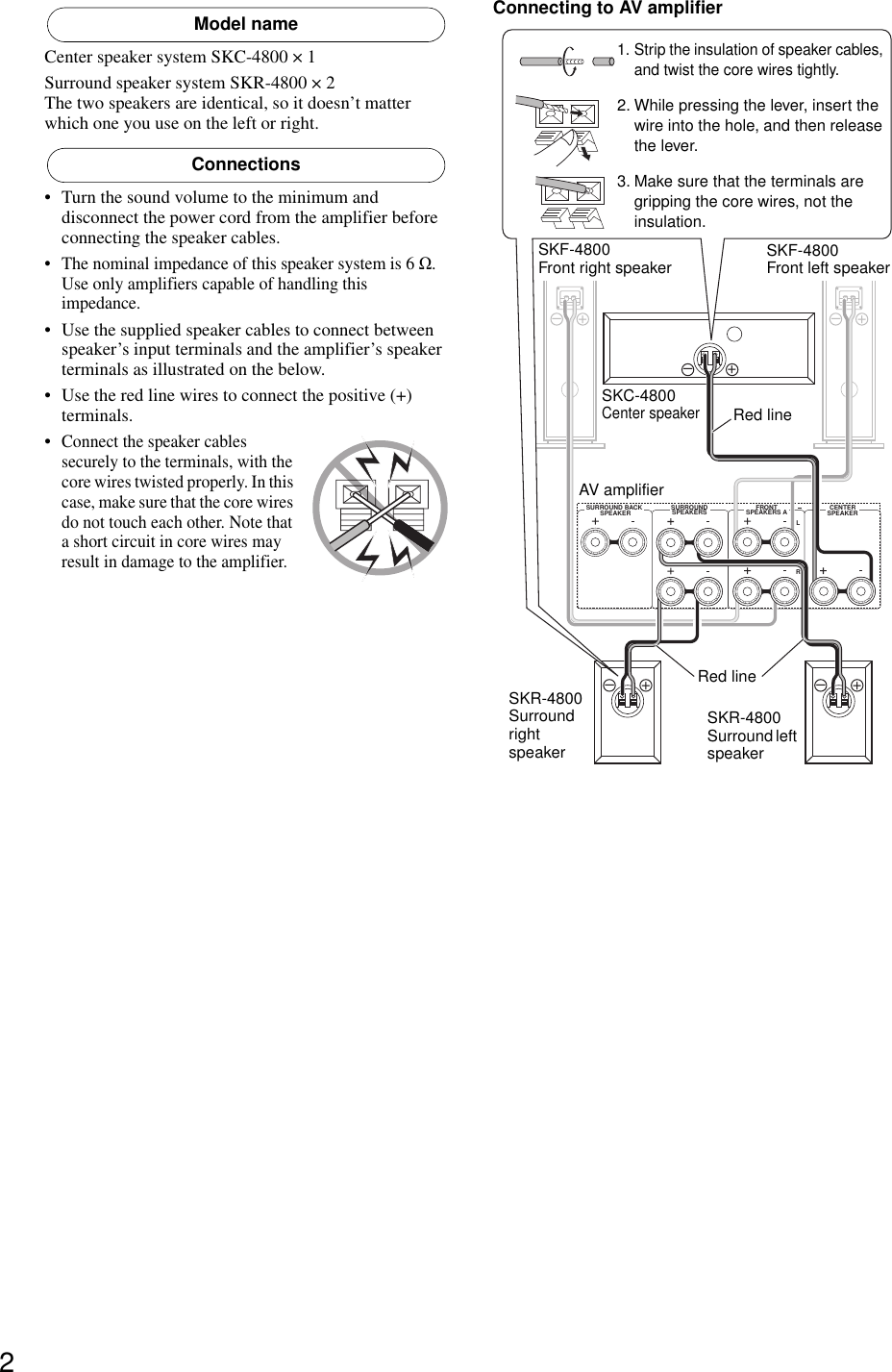 Onkyo Sks 4800 User Manual To The 953de8aa 4487 46a7 8eb7 313659596c2d Wiring Two Speakers In Series Parallel Page 2 Of 4