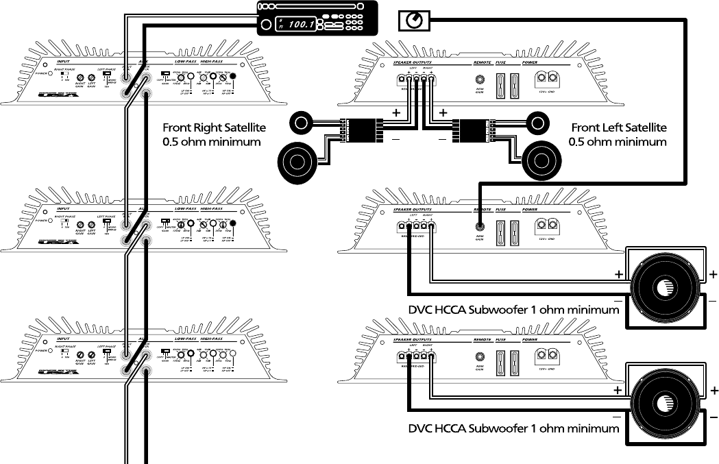 [SCHEMATICS_44OR]  Orion Car Audio 250R And 275R Users Manual Xtr1200   Orion Hcca 15 Wiring Diagram      UserManual.wiki