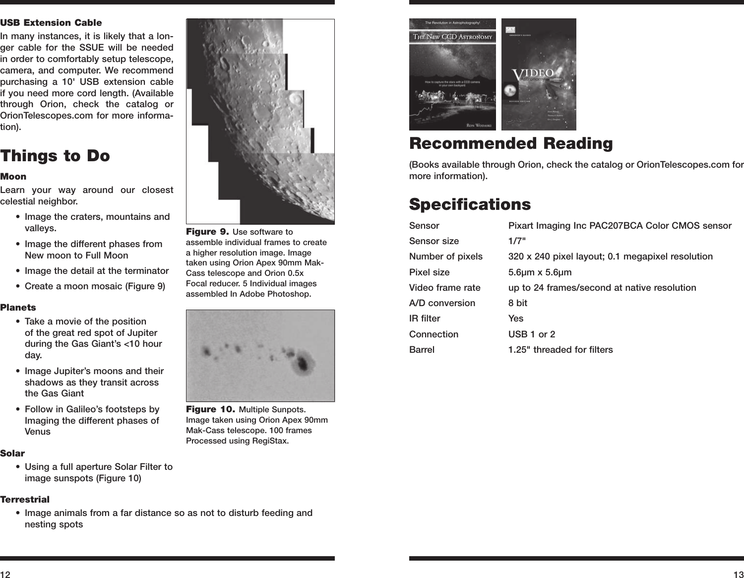Orion Starshoot 52173 Users Manual
