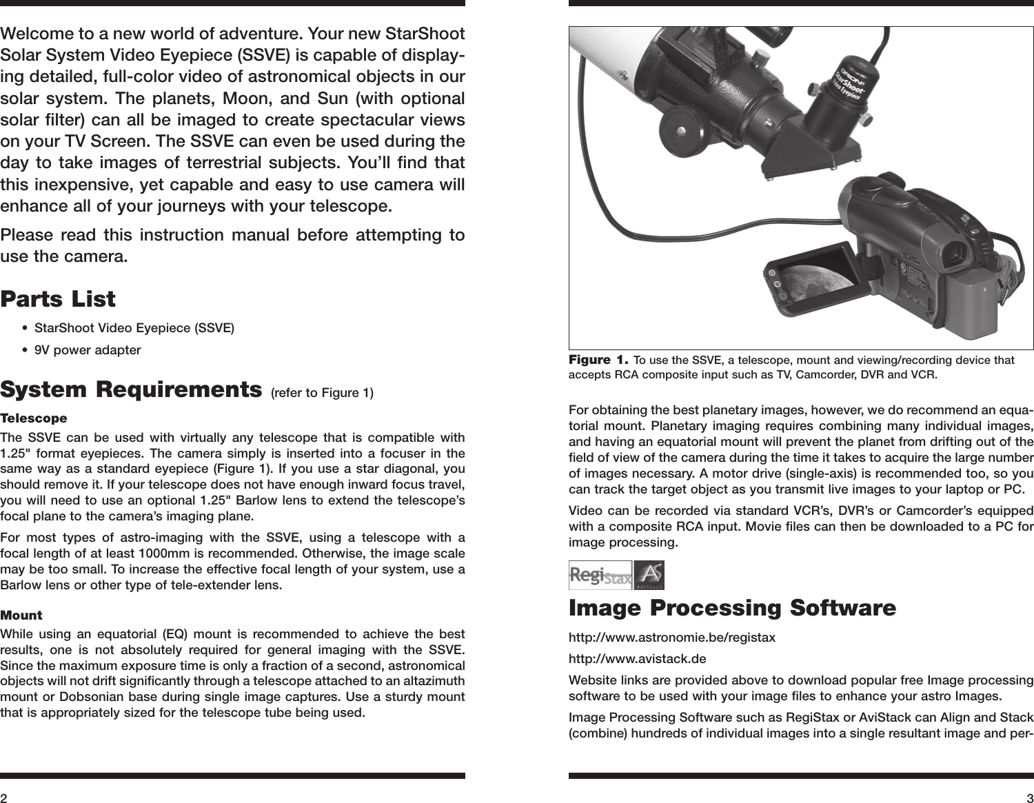 Orion Starshoot 52174 Users Manual