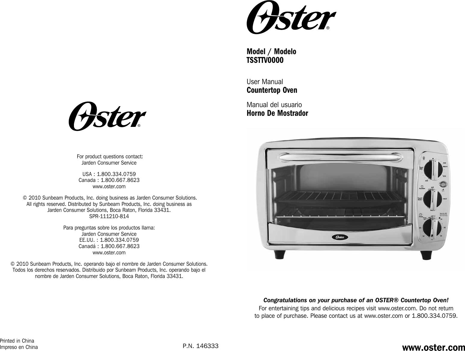 Oster Tssttv0000 Stainless Steel 6
