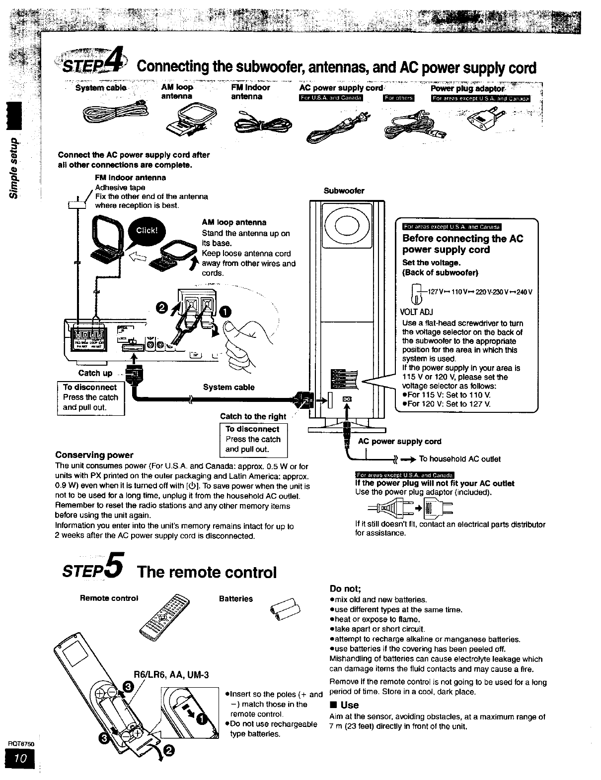 Panasonic Home Theatre Manual L0312003 To Legally In Canada Add 240v Power Outlet From Stove Ut