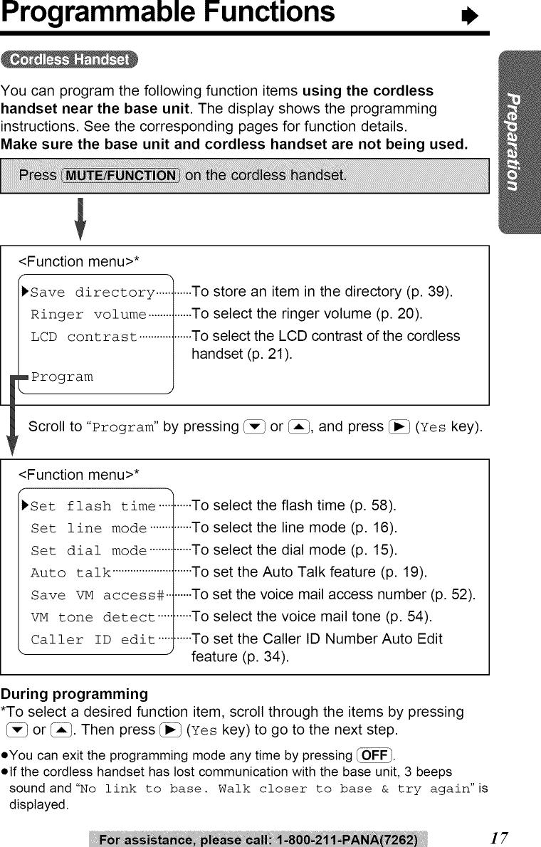 PANASONIC Telephones Manual L0904351