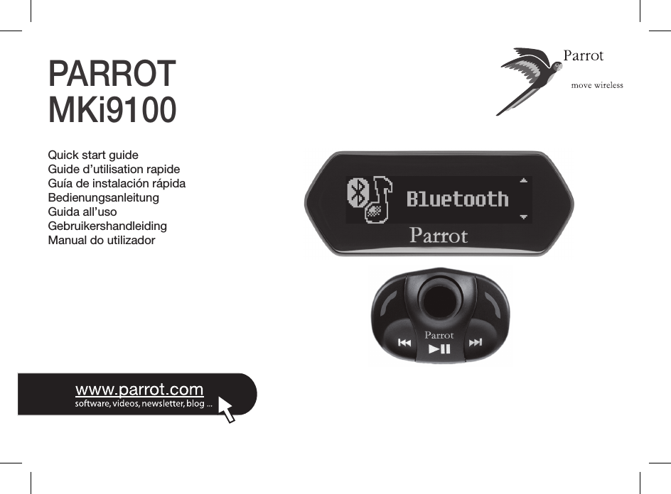 Parrot Ebox4r2 Bluetooth Car Kit With 433 Mhz Receiver User Manual
