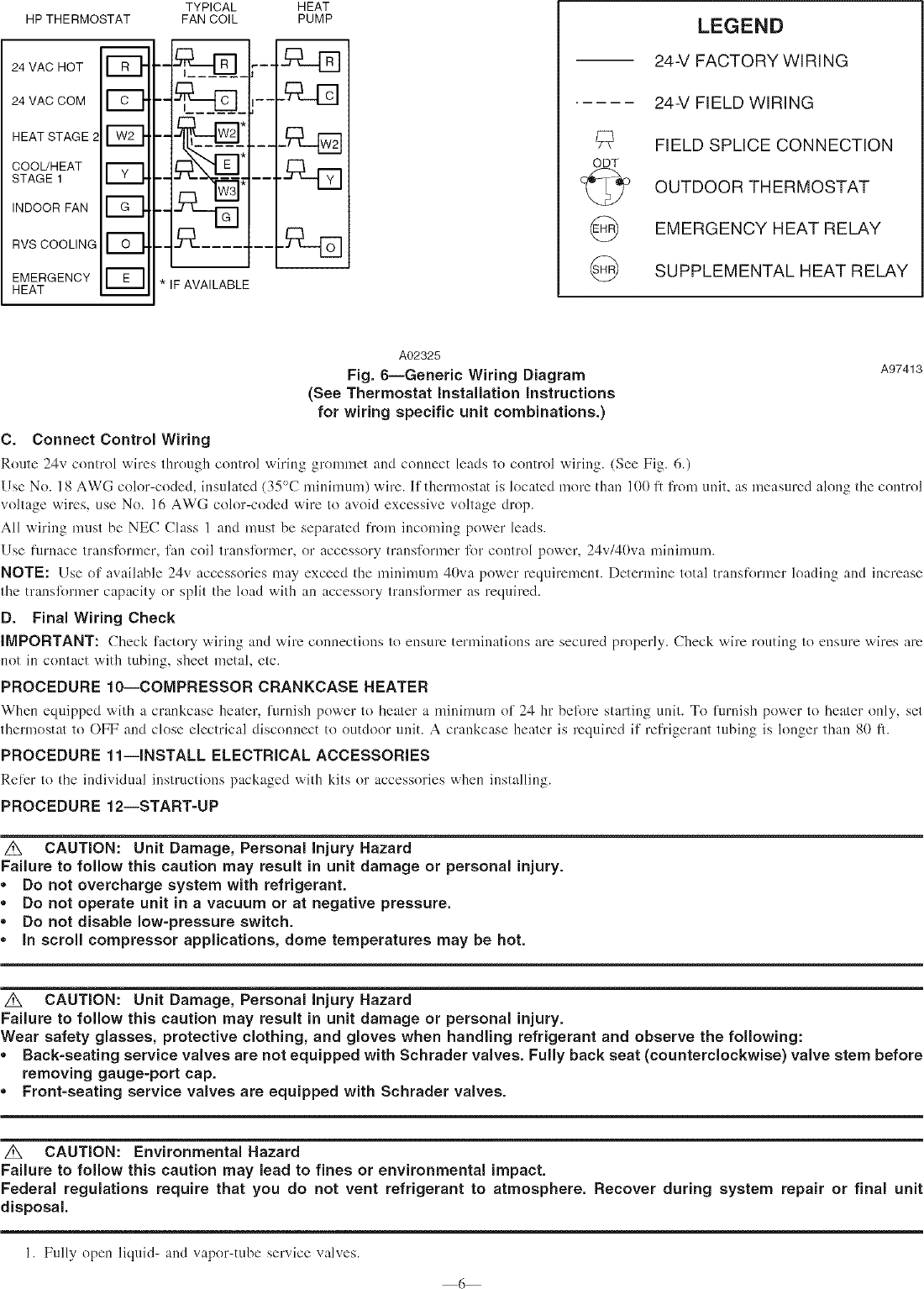 Page 6 of 10 - PAYNE Air Conditioner/heat Pump(outside Unit) Manual