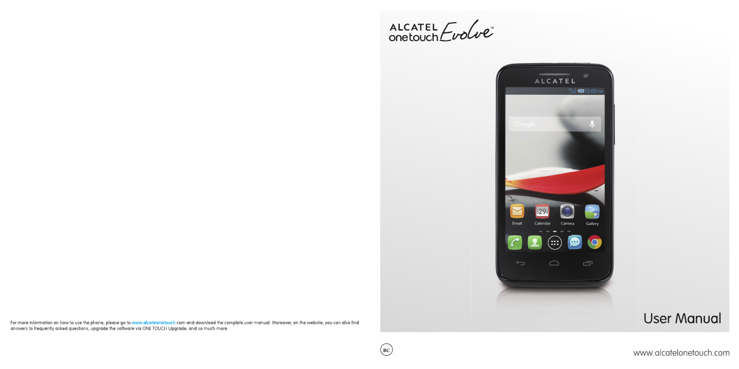 alcatel one touch ce1588 manual