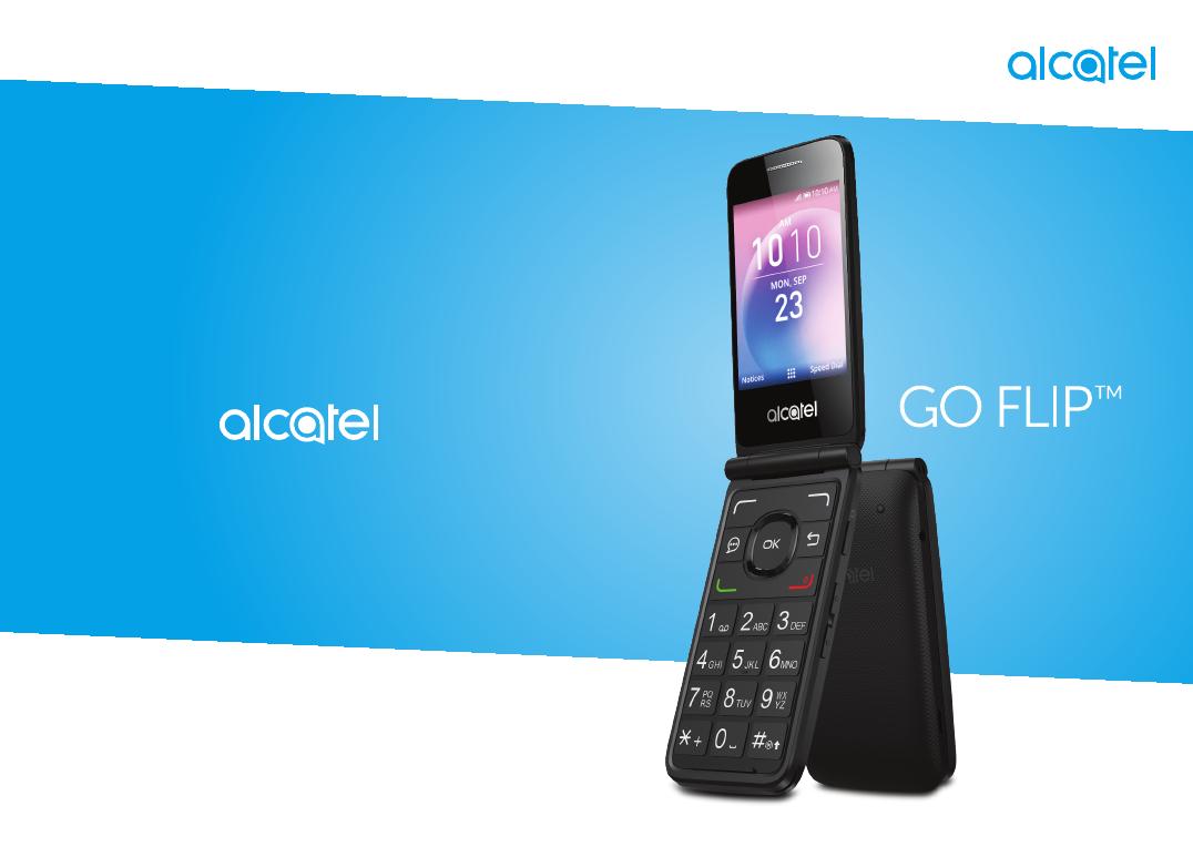 User Guide Alcatel go flip manual english