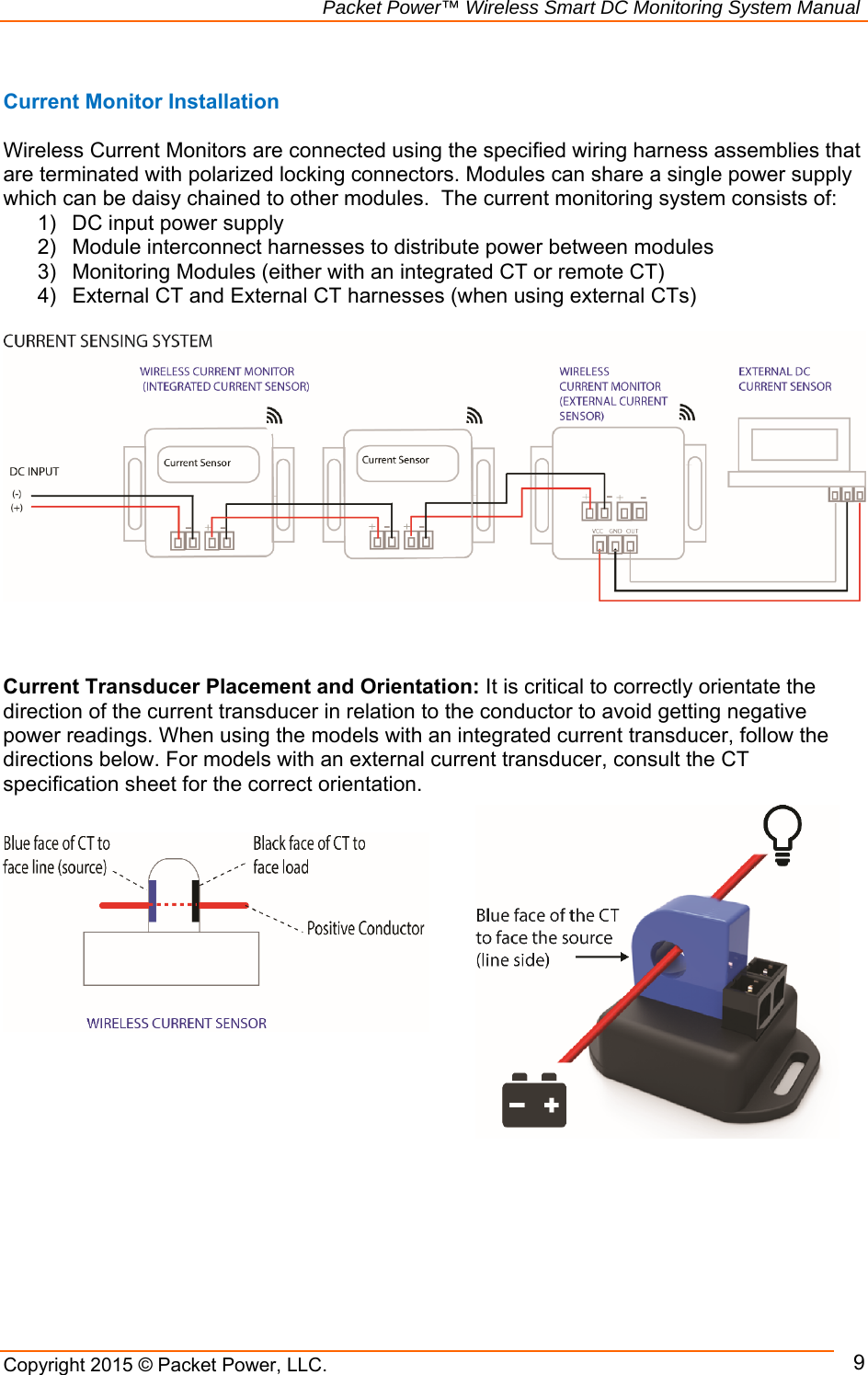 Packet Power P5c Wireless Monitor User Manual Dc Current Wiring Diagram Smart Monitoring System Copyright 2015 Llc