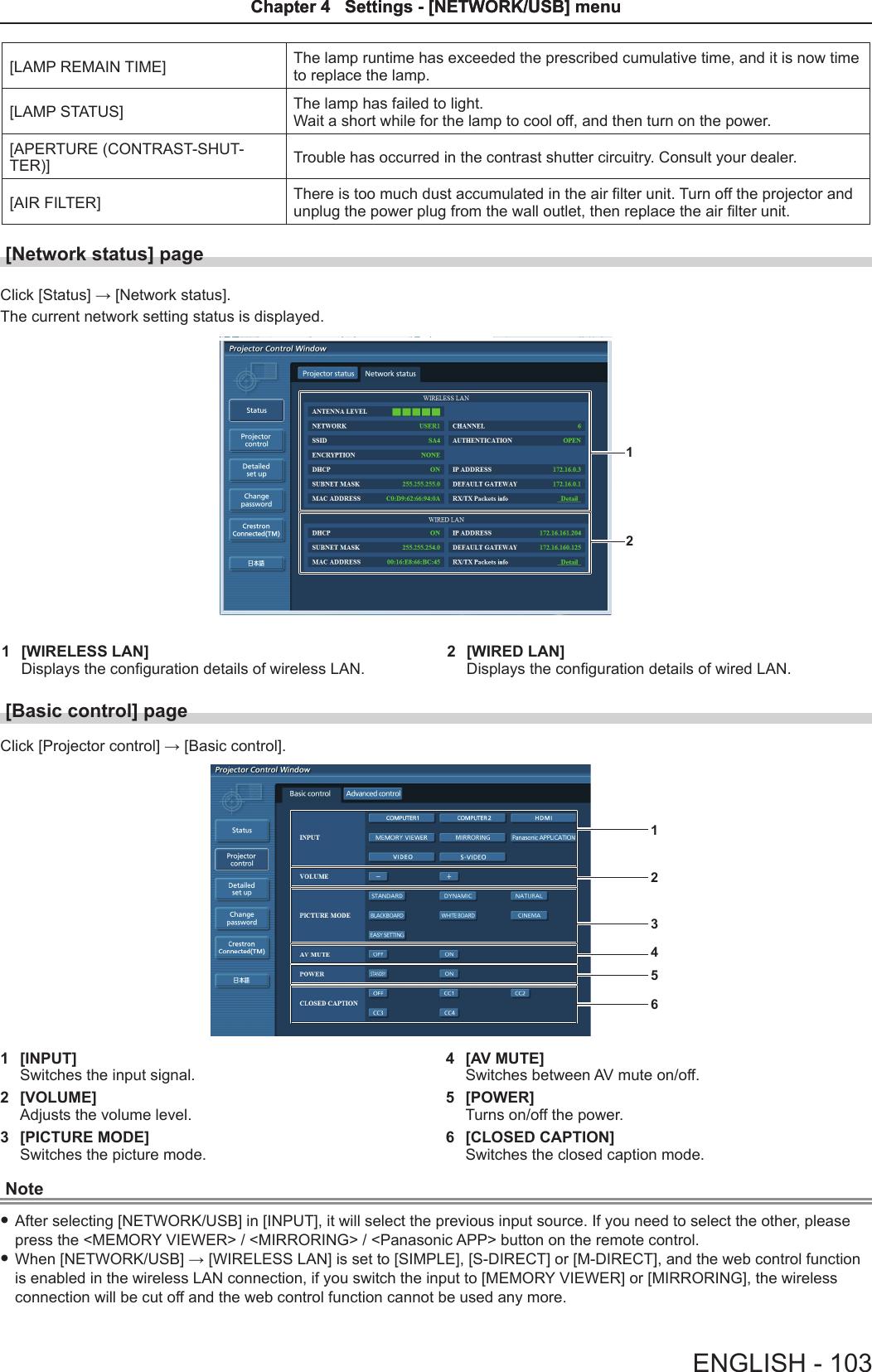 Panasonic of North America PT-VW355N LCD PROJECTOR User Manual PT ...
