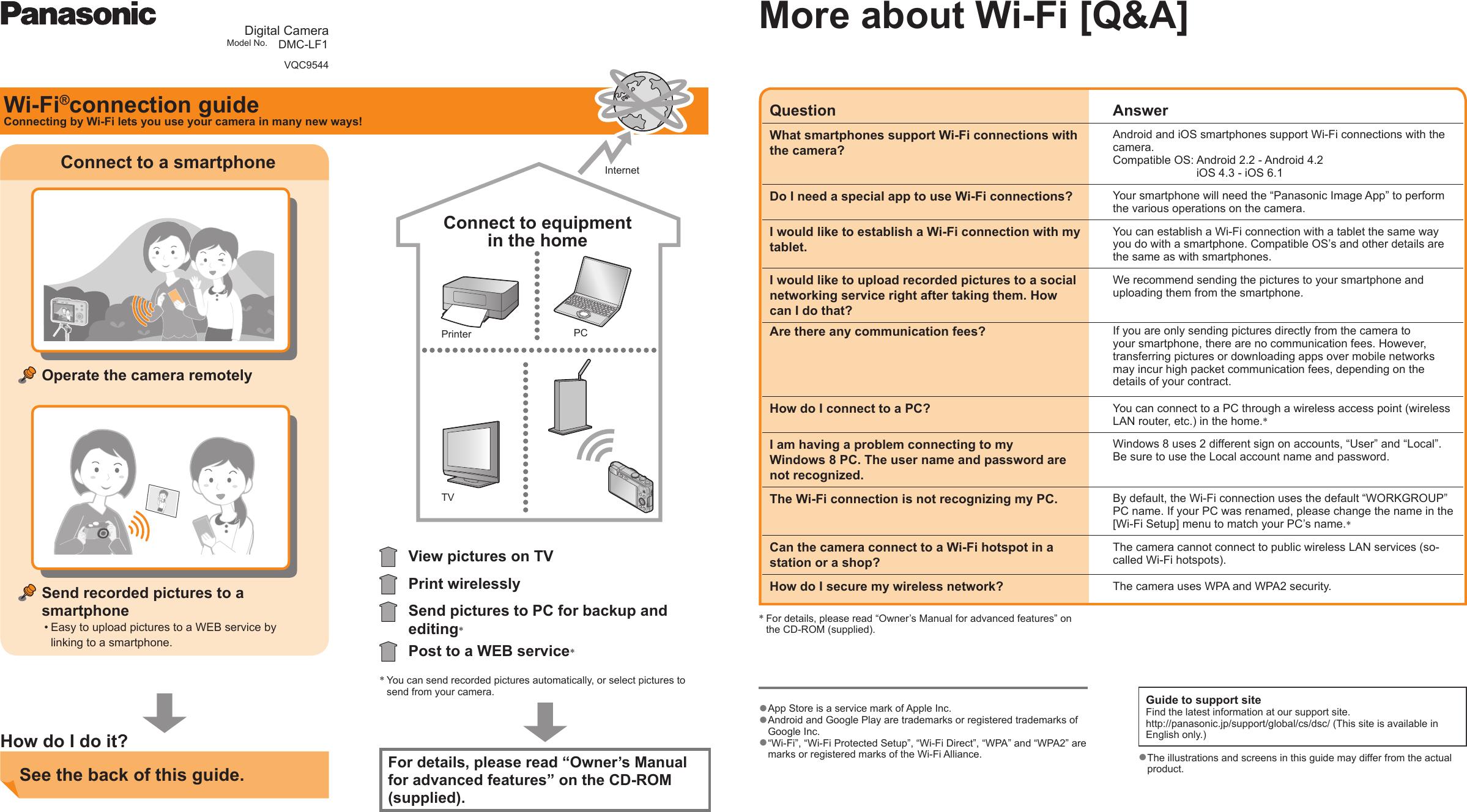 Panasonic Dmc Lf1 Wi Fi Connection Guide Fi_guide_LF1_P_Eng