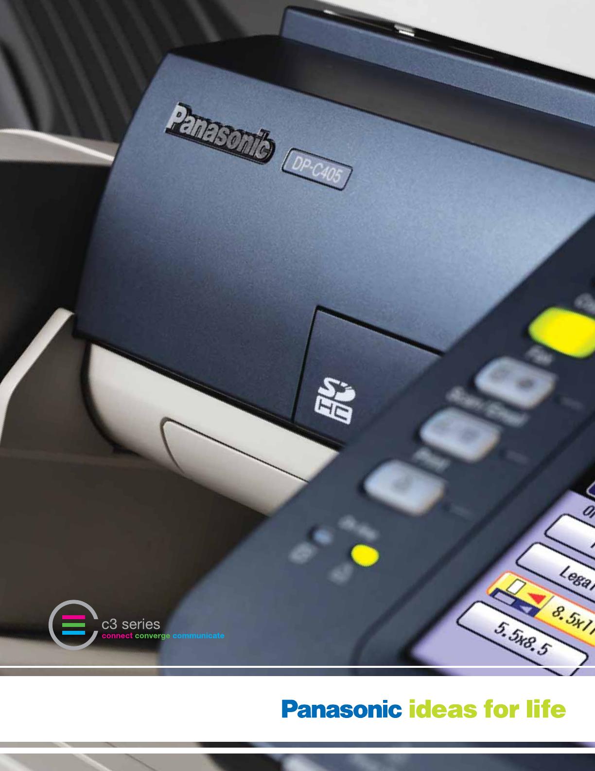 PANASONIC DP-C265 PCL6 DRIVERS PC