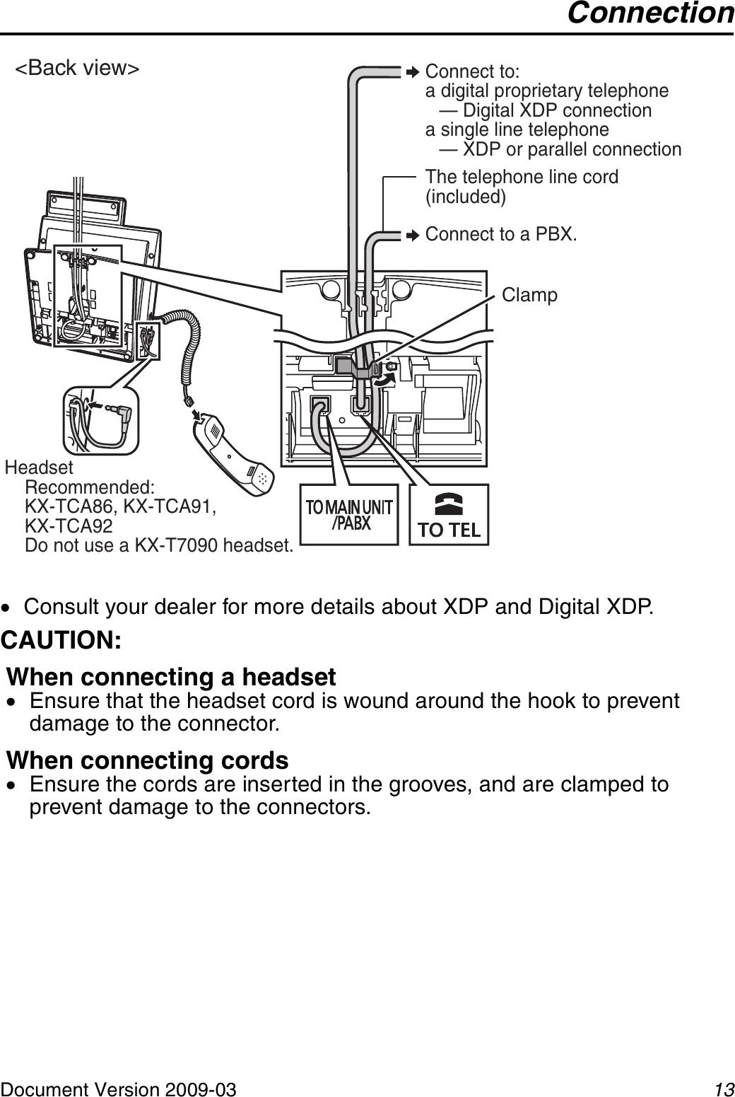 Panasonic Kxdt333 Digital Proprietary Telephone Quick
