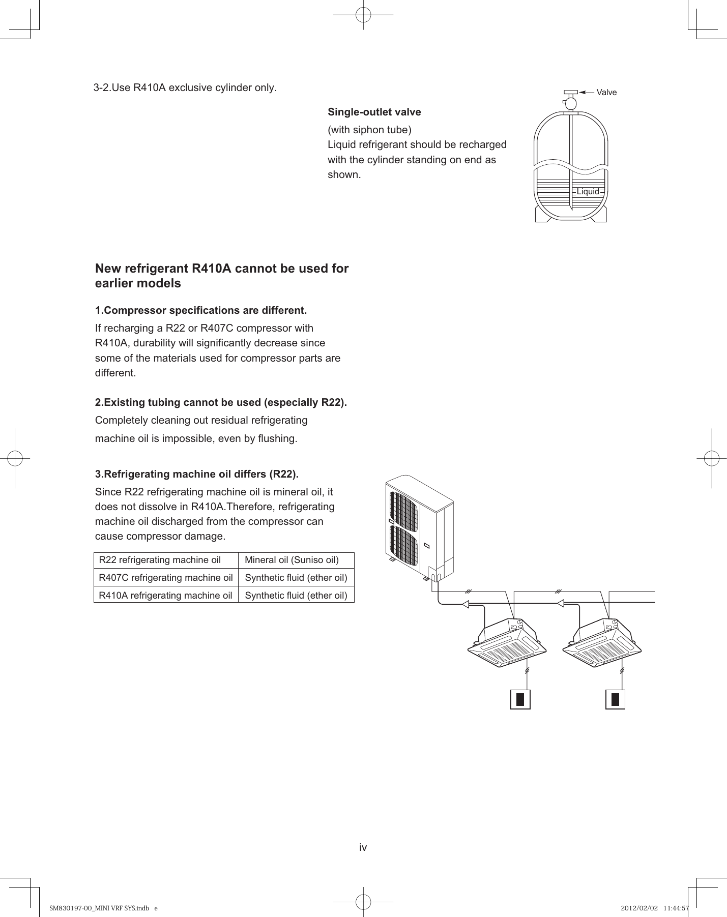 Panasonic Mini Eco I Service Manual SM830197 00_MINI VRF SYS indb