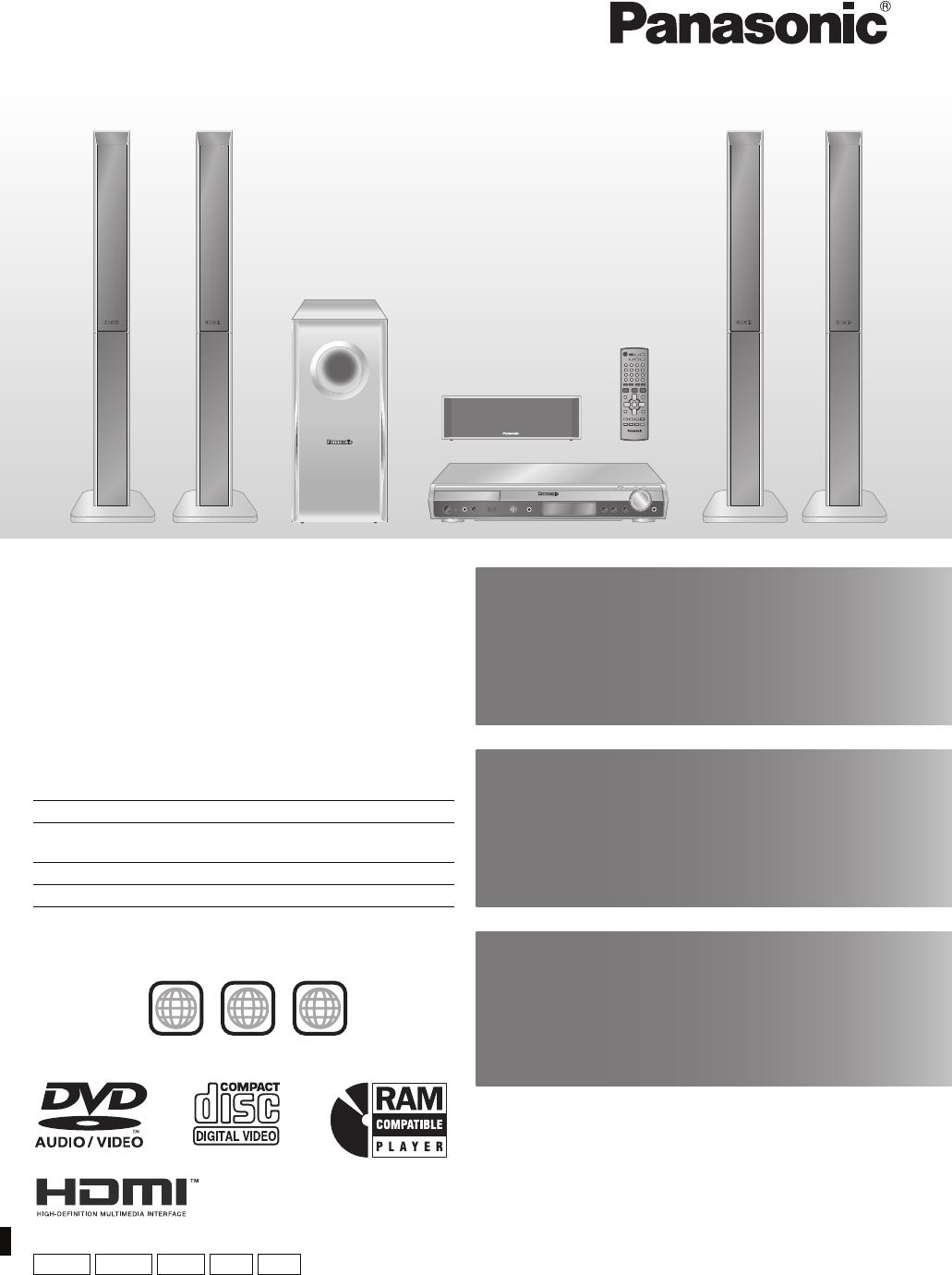 Panasonic SC HT895 En User Manual To The 7f5c606f 8534 4568