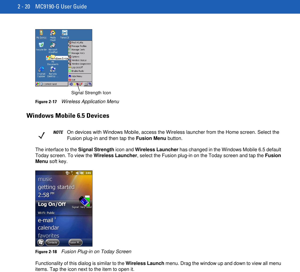 MC9190 G User Guide {English] (P/N 72E 140936 01 Rev  A