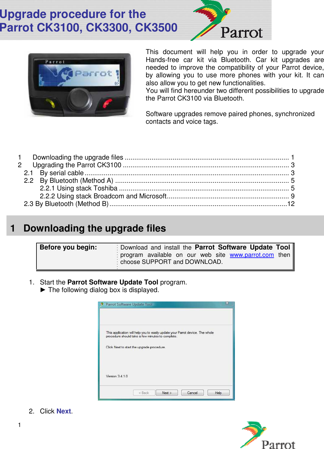 Parrot Ck3100 Ing Guide Wiring Diagram And Schematics Free Engine Image For User Car Stereo System Users Manual Vista Upgrade Procedure Eng